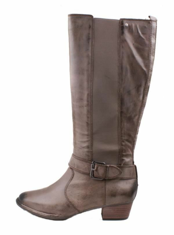 Giani Bernini All Cott Donna Stone High Pelle Knee High Stone Stivali size 6 b7b9d3