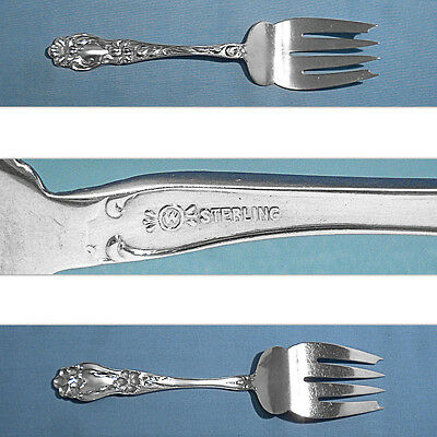 """Frank Whiting Lily Sterling Silver 7-1//8/"""" Fork"""