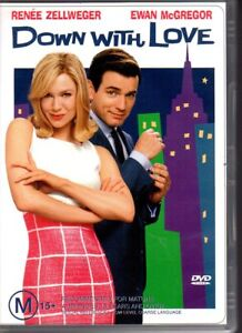 DOWN-WITH-LOVE-DVD-R4-2004-Renee-Zellweger-VG-FREE-POST