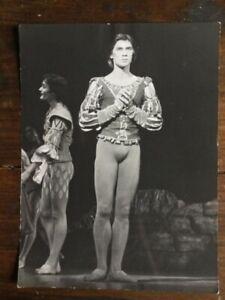 IngéNieux Photo Originale Argentique Danseur étoile Old Original Dancer Gay Interest