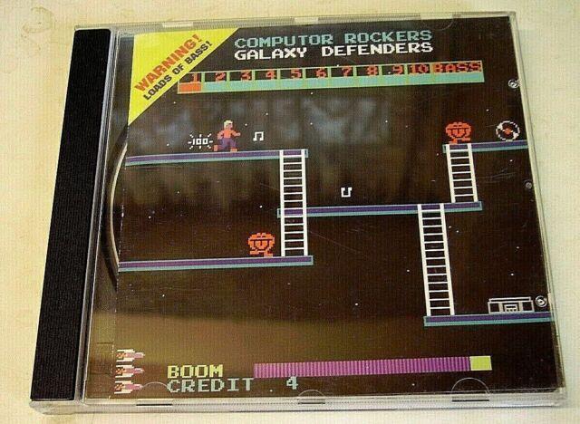 COMPUTOR ROCKERS - 'Galaxy Defenders' - (CD 1998)**EXC**