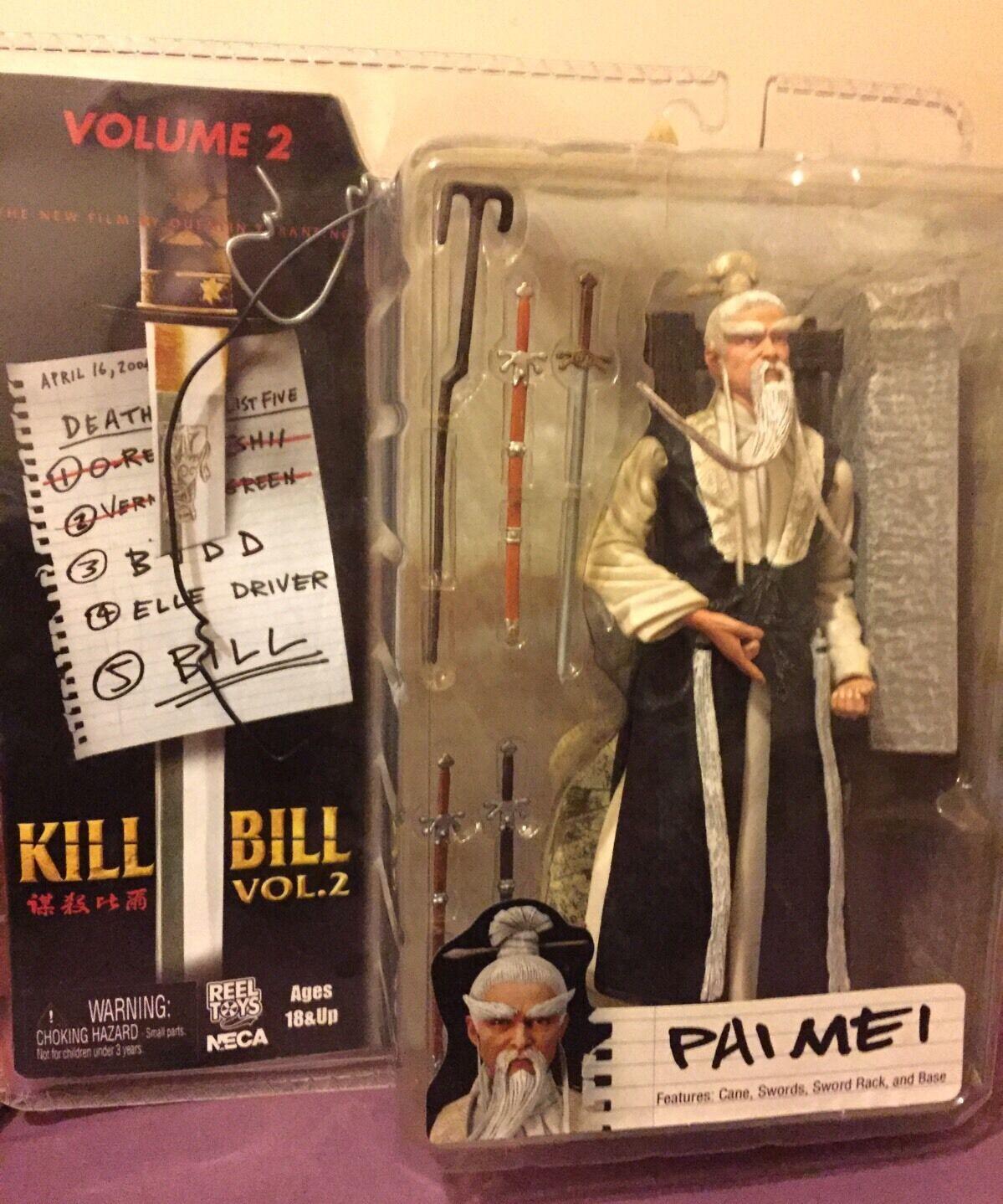 PAI MEI azione cifra-KILL BILL BILL BILL VOLUME 2-Neca Reel giocattoli 2005-RARA 5ac5ae