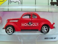 JOHNNY LIGHTNING - MONOPOLY - KENTUCKY AVE. '37 FORD COUPE  - 1/64 DIECAST