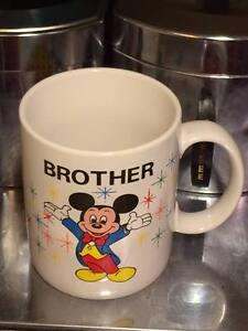 Vintage-ceramic-Mickey-Mouse-034-Brother-034-coffee-mug