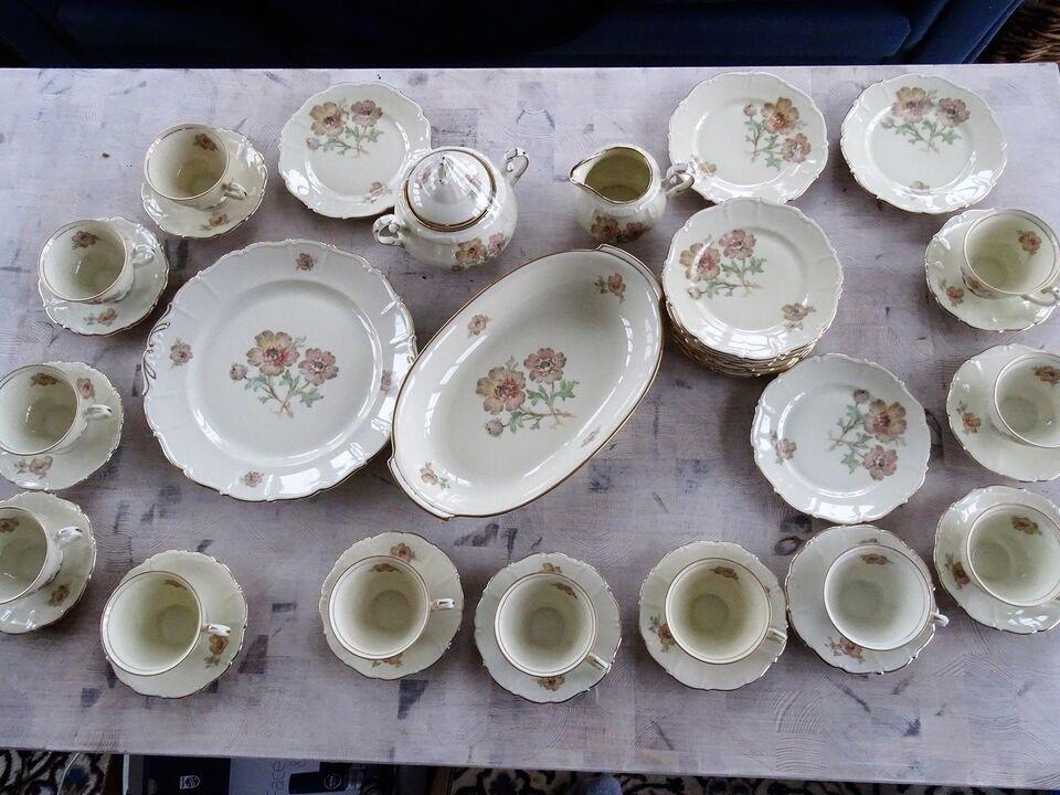 Porcelæn, kaffe sæt 12 personer, B&N dekoreret i Danmark