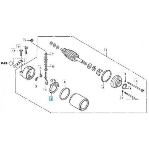 Porte Balais de Démarreur Pour HONDA SH 125 150 cc OEM: 31201-KFK-003