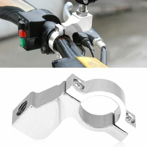 "7//8/"" Motorbike Dirt Bike ATV Handlebar Mirror Mount Clamp Bracket Adapter 10mm"