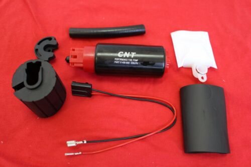 CNT E85 255LPH High Flow Fuel Pump and Install Kit replace GSS342