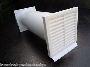 LA CUCINA Flachkanal NW 125mm Lüftungstechnik Dunstabzug Abluft 150x70mm Küche