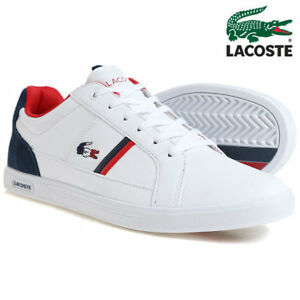 9846f1e368b8 Image is loading lacoste-europa-317-1-spm-leather-trainers-shoes-