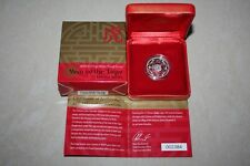 (PL) 2010 Australia Year Of The Tiger $1 Silver Proof Coin Unc ROYAL MINT RAM