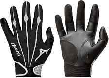 1 Pair Mizuno 330286 Vintage Pro X-Large Black / White Adult Batting Gloves New!