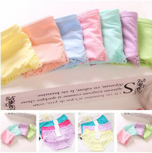 Women-039-s-Soft-Lace-Underpants-Underwear-Knickers-Panties-Briefs-Lingerie-Cotton
