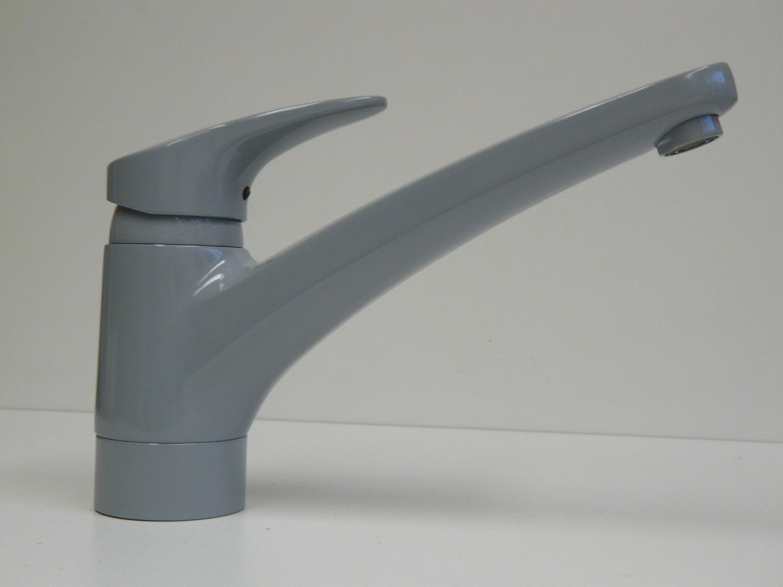 Küchenarmatur Grau (RAL 7001), Einhebelmischer, Spültischarmatur, Spüle