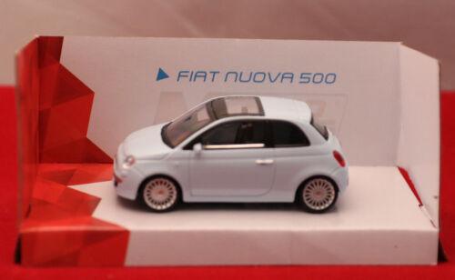 Modello di auto//FIAT NUOVA 500//Blu chiaro//Italian Style//1:43//3+//Scatola Originale