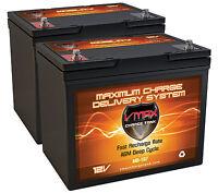 2 Orthofab Lifestyles Wheelchair Vmax107 Agm Batteries