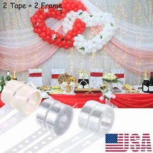 Balloon Arch Frame Kit Column Base Tape Wedding Birthday Party Decorating Strip