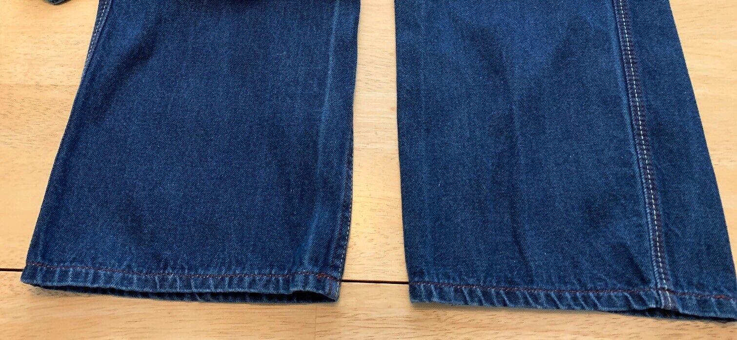 """Vintage N Est Ce Pas indigo denim jeans 24"""" waist… - image 8"""