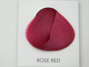 Direction haarfarbe rose red