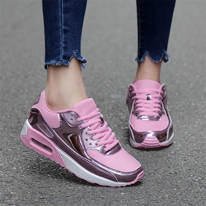 Para Mujer Zapatos De Deportes Atléticos Moda aireados informal tenis tenis tenis de correr al aire libre  ¡envío gratis!