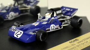 Quartzo-1-43-Scale-4046-Tyrrell-003-British-GP-1971-J-Stewart-Diecast-F1-Car