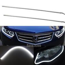 "0.3"" Thinnest 60cm Pure White LED Daytime Strip Light For Headlight DRL Retrofit"