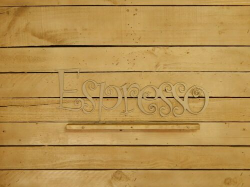 Espresso Coffee Sign W1035 Coffee Pot Sign Kitchen Decor Coffee Shop Sign