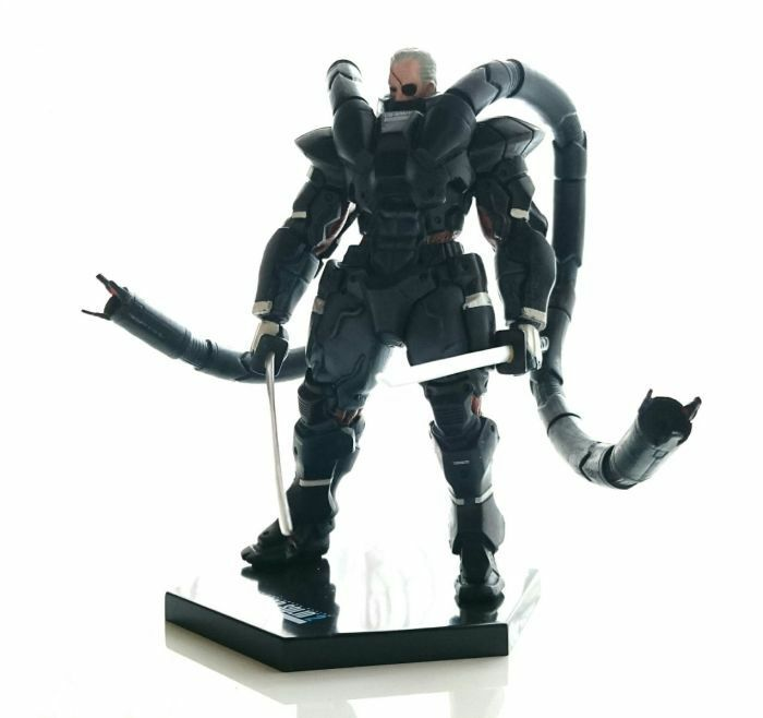 Konami Figure Collection Metal Gear Solid 2 Solidus Snake