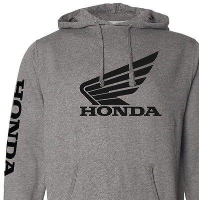 Honda Racing Sweatshirt Hoody Zipper Zip-up HRC CR CBR 250 450 600RR motorcycle