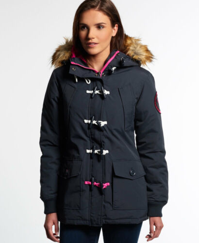 Duffle Everest Navy Superdry Womens Coat New xwPtEzx