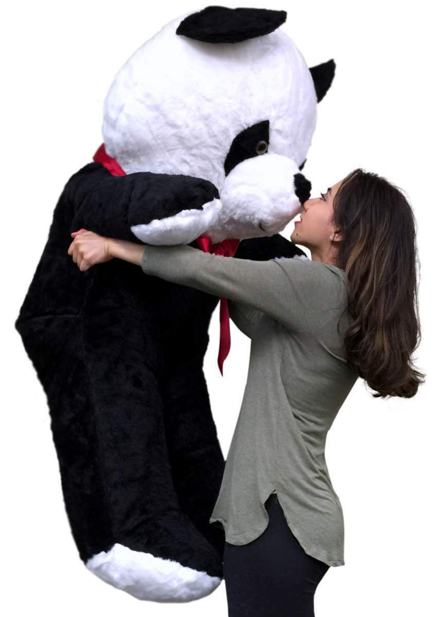 :American Made Giant Stuffed Panda 54 Inch Soft Big Plush Bear Made in USA