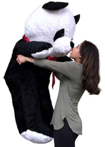 American Made Giant Stuffed Panda 54 Inch Soft Big Plush Bear Made in USA