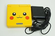 Nintendo Game Boy Advance GBA SP Pikachu Yellow System AGS 101 Brighter MINT NEW