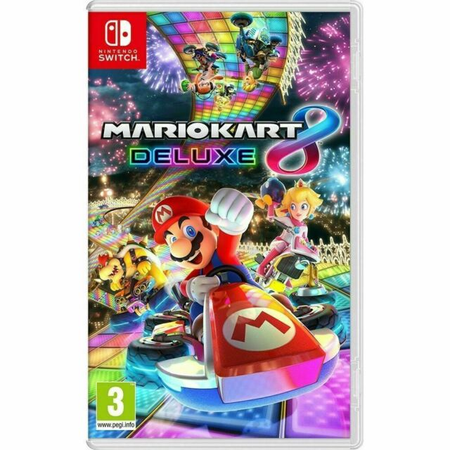 Mario Kart 8 Deluxe Nintendo Switch (UK NEW & SEALED) Kids Combat Racing Game