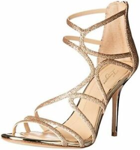 857b18507e0  160 size 10 Imagine Vince Camuto Ranee Champagne Strappy Heels ...