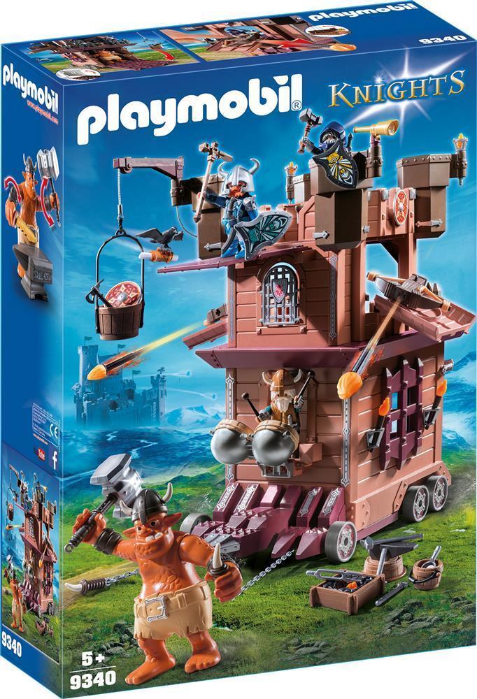 Playmobil - Mobile Zwergenfestung (9340) (9340) (9340)    Lass unsere Waren in die Welt gehen  80d8e5