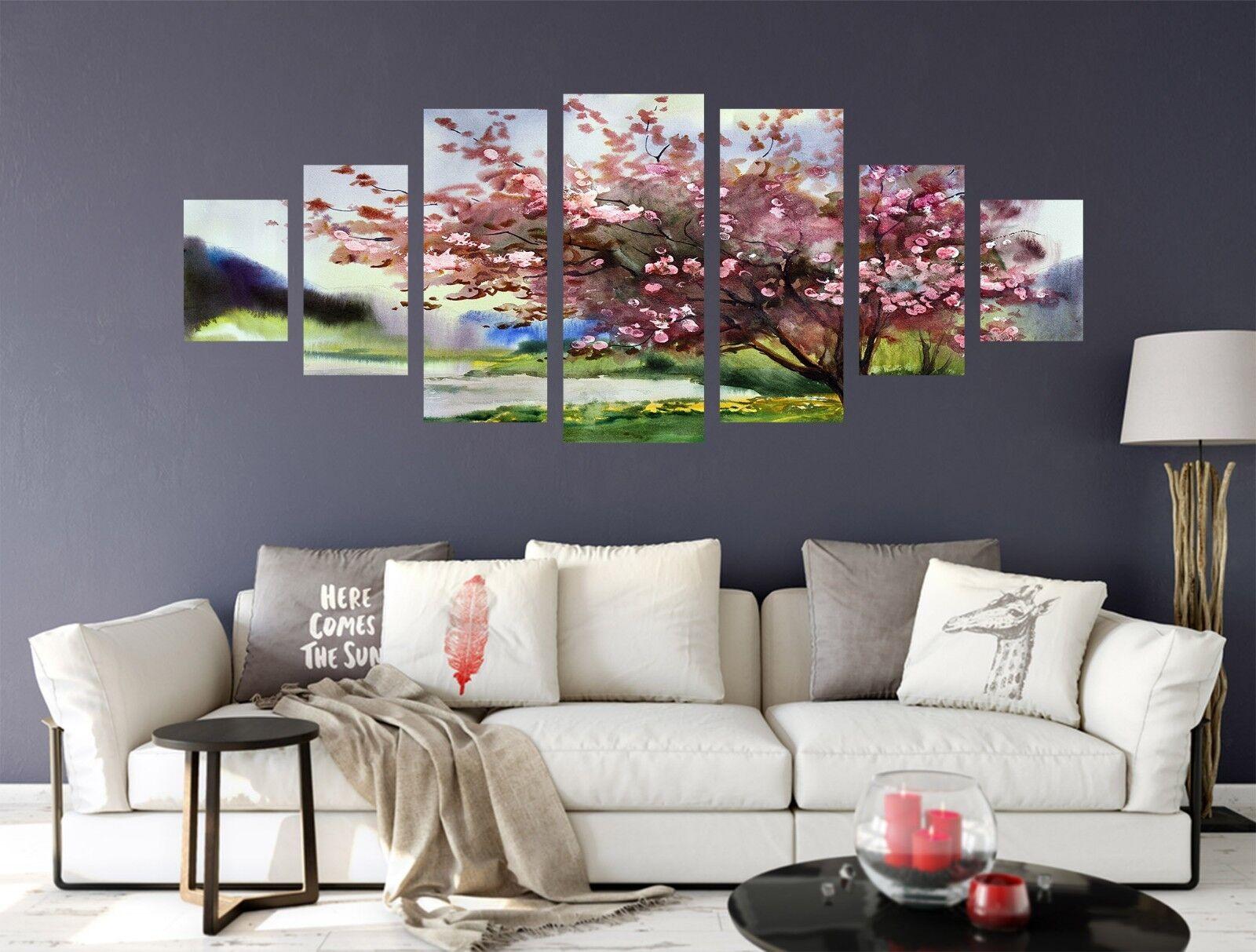 3D Pink Peach 717 Unframed Print Wall Paper Decal Wall Deco Indoor AJ Wall Jenny