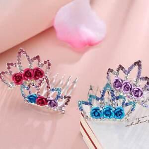 Mini-Crystal-Rhinestone-Bride-Girls-Princess-Crown-Hair-Comb-Party-Gift-r