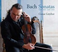 Johann Sebastian Bach Sonates pour violon solo BWV 1001, 1003 et 1005, New Music