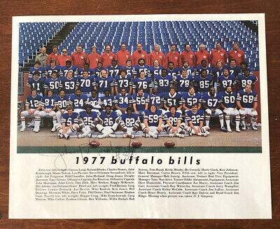 ONLY 1 ON EBAY 1977 Buffalo Bills Team Photo W/John ...