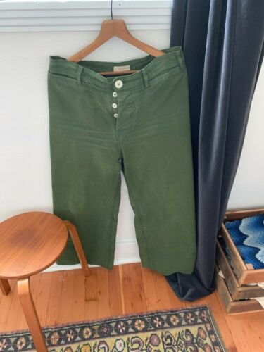 Jesse Kamm Sailor Pants Olive 12