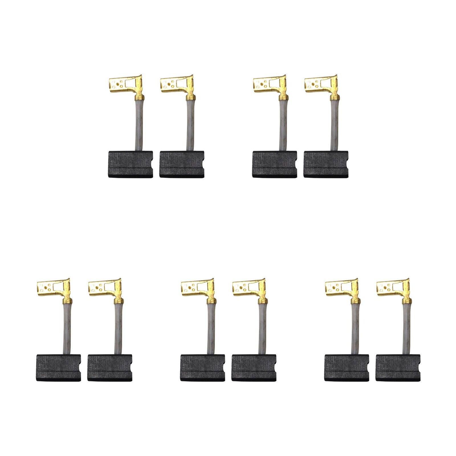 5 Sets of - 2x Carbon Brushes - Dewalt Hammer (Größe - 7.1 X 10.5 X 17.5)