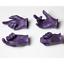 CUSTOM Joker Heath Ledger 1//6 Scale Purple Hands Gloved For 12/'/' Figure ❶USA❶