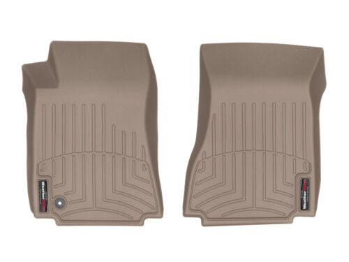 WeatherTech FloorLiner Mats for Cadillac CTS 2008-2010 1st Row Tan