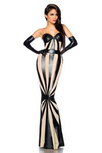 Wetlook Saresia Sexy M Ballkleid S L kleid Schwarz Bandeau Abendkleid Kleid Xs dZw0Z1