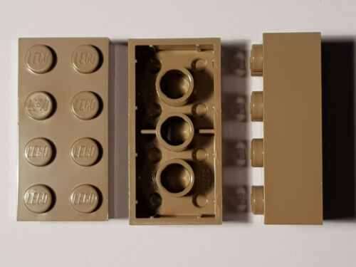 #ac17 Lego ® 5 x 3001 Basic piedra 2 x 4 oscuro beige 4247145 Star Wars Dark tan