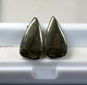 16-45-Cts-100-Natural-Pair-Of-Apache-Gold-Untreated-Cabochon-Loose-Gems