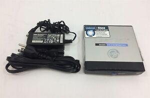 Cisco-SD2005-5-Port-Gigabit-10-100-1000-Network-Switch-w-AC-Adapter