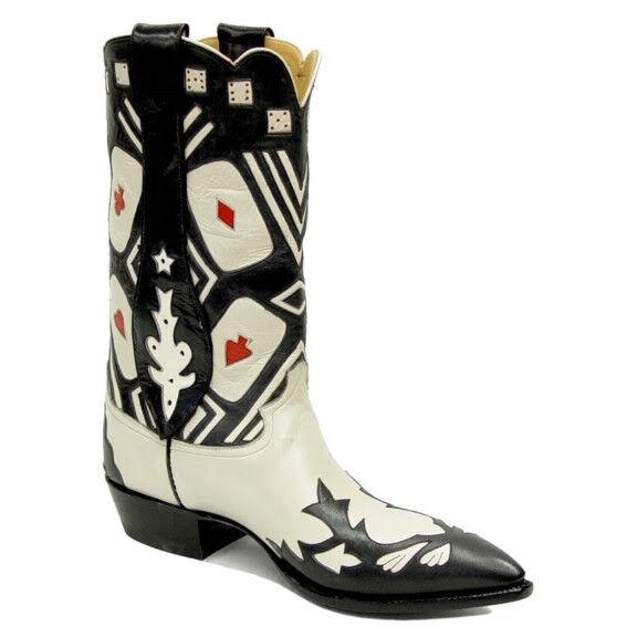 Las Vegas Retro Echtleder Cowboy Stiefel Damen 6b Rancho Loco Loco Loco  jetzt bestellen