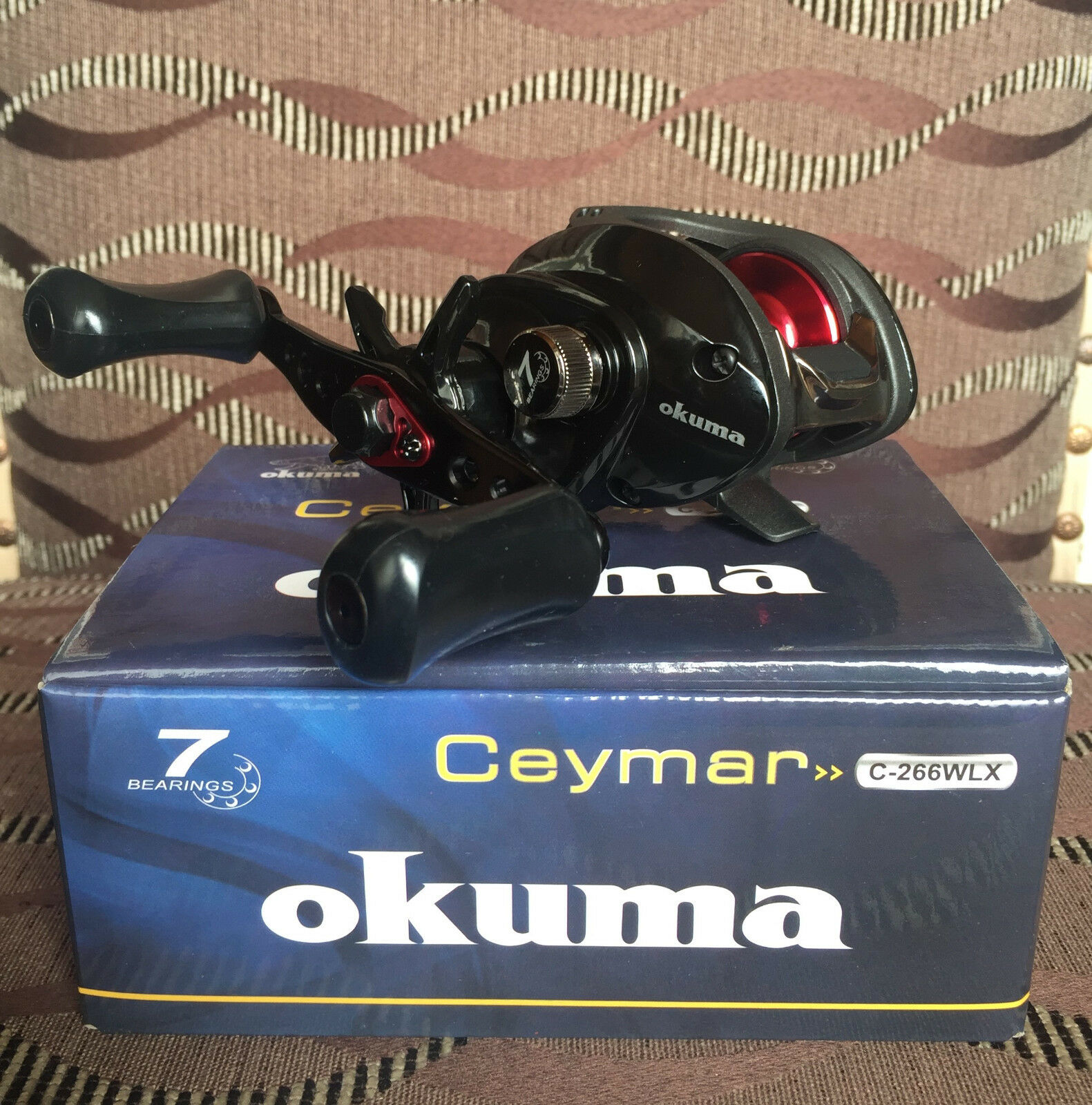 Okuma Ceymar C-266WLX C-266WLX C-266WLX Linkshand Baitcaster Multirolle 3a0813